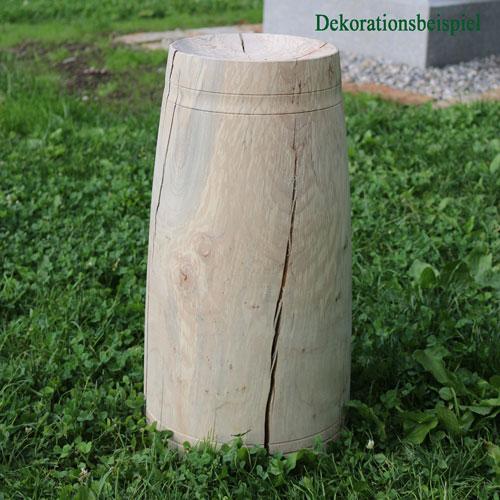 Gedrechselter Ahornfuß für Deko-Holzkugel – Unikat