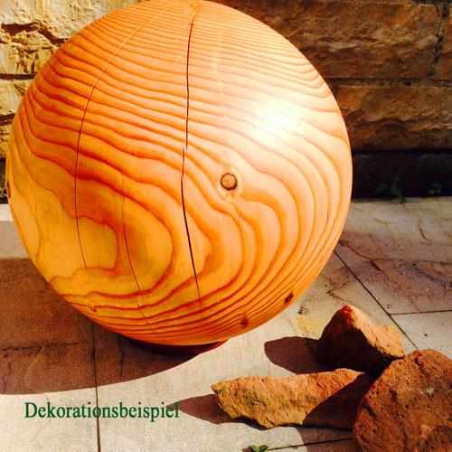 Waldrian®-Holzkugel aus heimischem Massivholz – Verkauft!