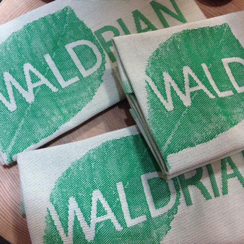 Jacquard-Haushaltstuch Marke Waldrian®